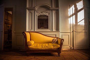 chaise longue in Frankreich von Michel de Jonge