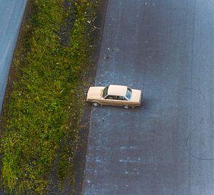 Volvo vanuit de lucht