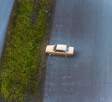 Volvo vanuit de lucht van
