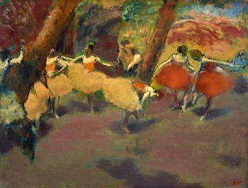Vor dem Auftritt, Edgar Degas
