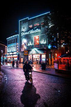 Grand Theatre op de Grote Markt, Groningen van Hessel de Jong
