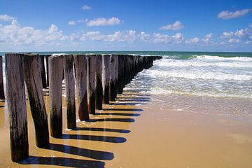 Strand Domburg von 7Horses Photography