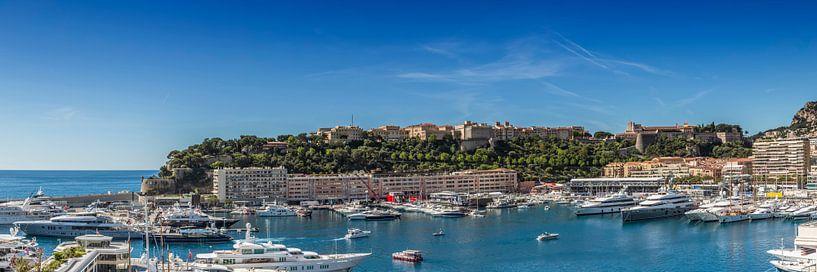 MONACO Port Hercule | Panoramic van Melanie Viola