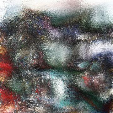 Abstrakter Basse-Pointillismus IV von Maurice Dawson