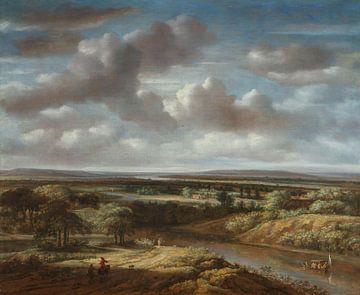 Flusslandschaft, Philips Koninck, 1676