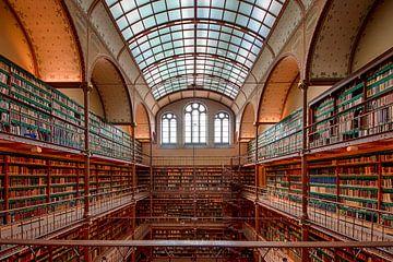 Bibliotheek Rijksmuseum Amsterdam von Peter Bartelings Photography