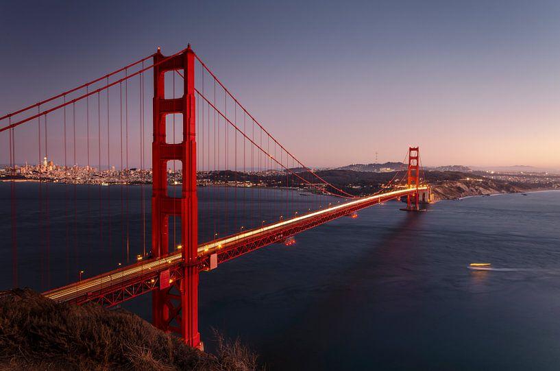 The golden gate bridge van Rob Visser