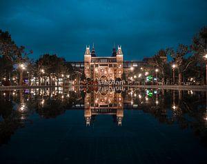 Rijksmuseum Amsterdam by Night