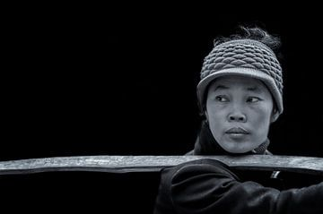 Dame in Hanoi von Ewout Paulusma