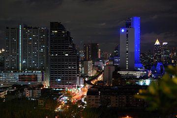 The big city Bangkok van Sebastiaan  van Beem