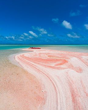 Roter Sand in Tikehau von Nick de Jonge - Skeyes