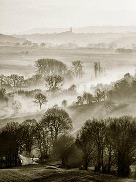Limburgs heuvellandschap van Arno Marx