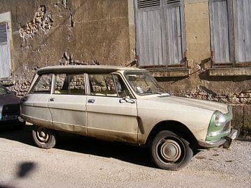 oldtimer Citroën Ami sur Mirjam van Ginkel