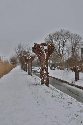 Sneeuw in puttershoek