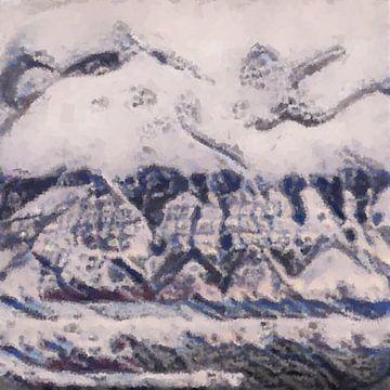 Abstrakte Inspiration LXXIX von Maurice Dawson