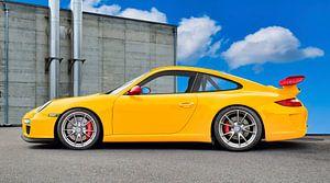 Porsche 911 GT3 Typ 997 in Original gelb