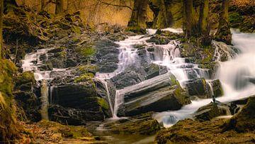 De Selke watervallen bij Harzgerode van Steffen Henze