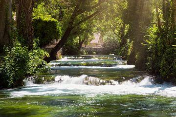trapsgewijze watervalletjes van