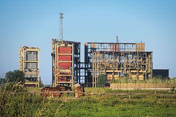 Afbraak energiecentrale van Leon Eikenaar