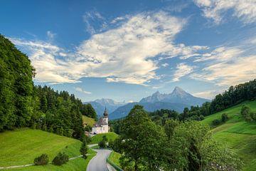 Maria Gern Berchtesgaden von Michael Valjak