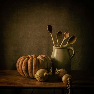 Stilleven keuken tafereel van Monique van Velzen