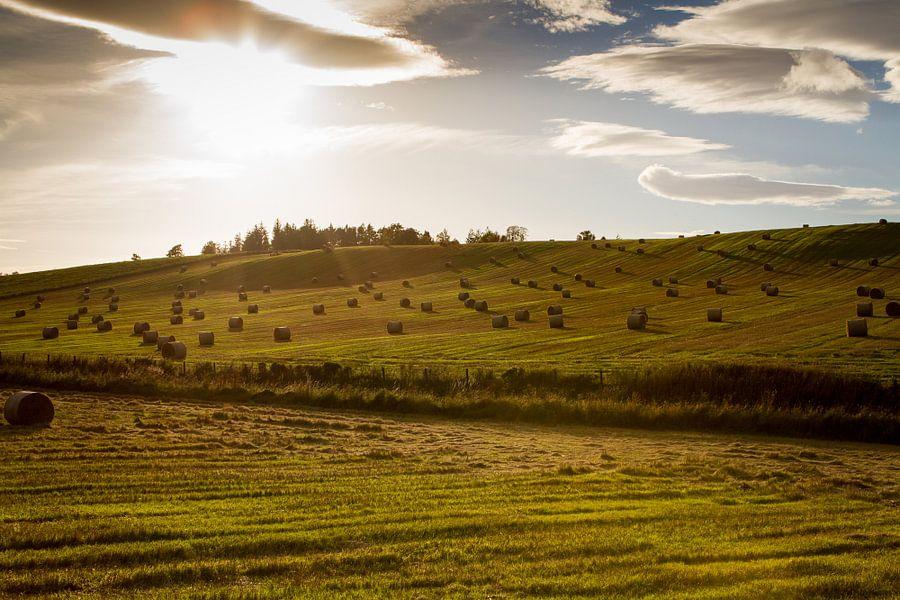 Zonsondergang in Schotland