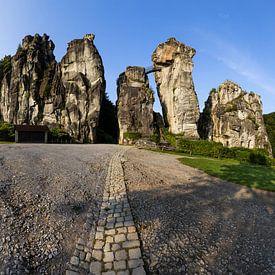 Externsteine - Panorama von Frank Herrmann