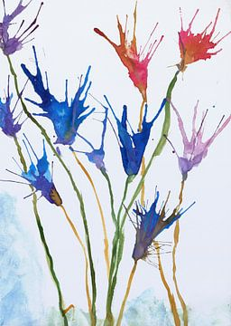Bloemen van Angel Estevez