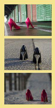 High Heels Collage 1 von Norbert Sülzner