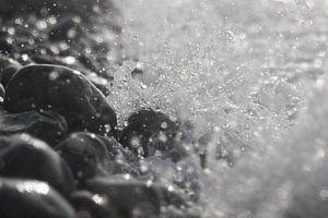 Pebbles in Spray
