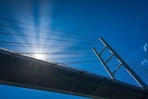 Rügenbrücke verbindt Rügen met het vaste land