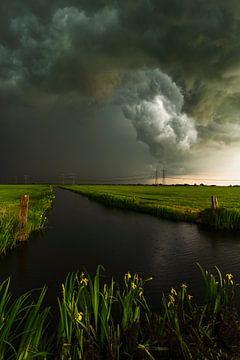 Storm polder Mastenbroek van Rick Kloekke