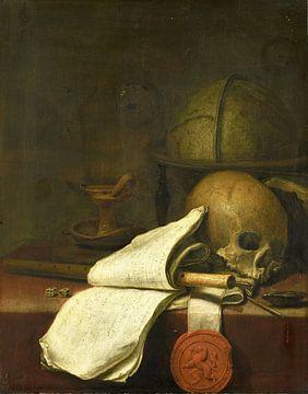Vanitas stilleven, Pieter Symonsz. Potter, 1646