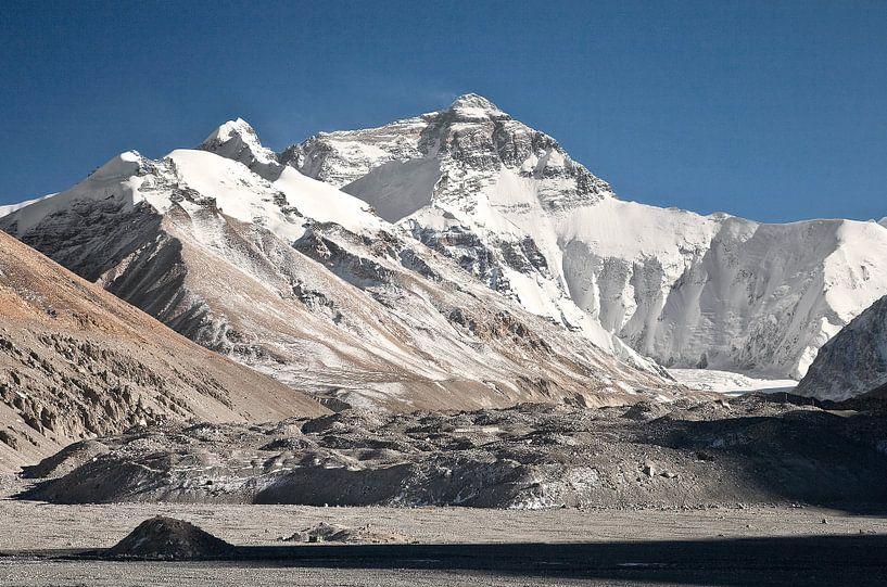 Mount Everest van Jan van Reij