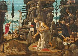 Der reuige St. Jerome, Jacopo da Sellaio