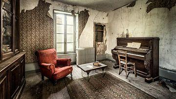 Urbex fotografie in een verlaten kasteel in de Auvergne Frankrijk van