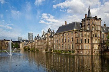 Binnenhof en Hofvijver, Den Haag van