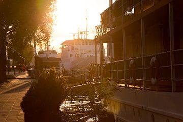 Sonnenuntergangs-Stadtfoto von Stockholm in Schweden von Karijn | Fine art Natuur en Reis Fotografie