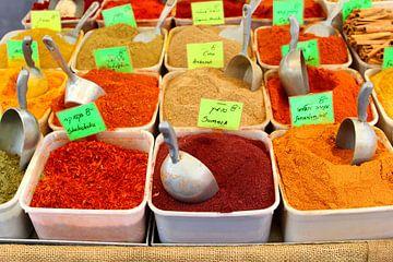 Oosterse kruiden specerijen van