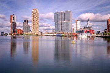 Rijnhaven in Rotterdam van Johan Vanbockryck