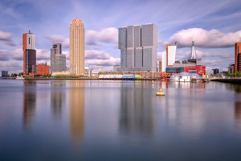 Rijnhaven à Rotterdam sur Johan Vanbockryck