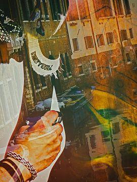 Painting Venice von Gabi Hampe