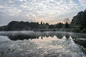 Ochtend aan een meer
