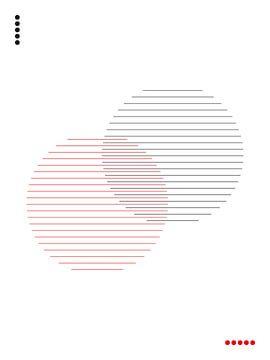 Abstracte, Minimalistische Cirkels van MDRN HOME