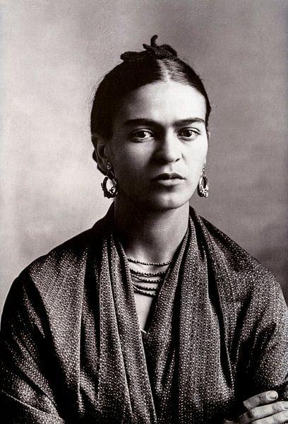 Portret van Frida Kahlo, 1932 (gezien bij vtwonen) van Bridgeman Images