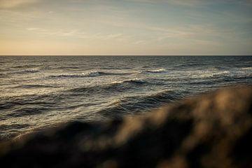 Gezicht op de Noordzee van David Heyer