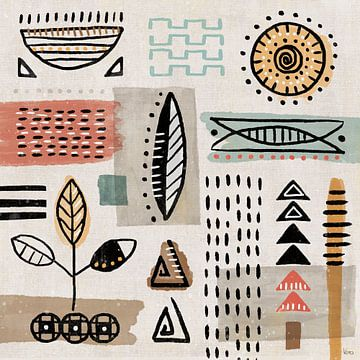 Tribal Tones II, Veronique Charron van Wild Apple