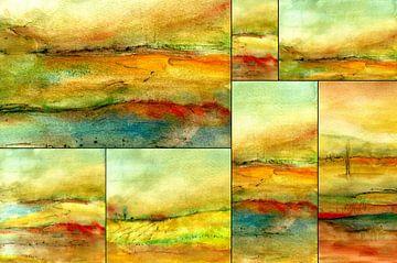 Collage  Naturstimmungen von Claudia Gründler