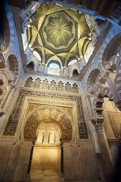 Die Mirab in der Mezquita von Cordoba, Spanien von Fotografiecor .nl