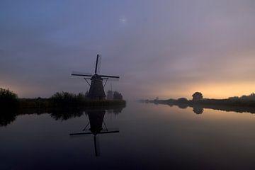 Molens Kinderdijk, Windmills Kinderdijk, Moulins de Kinderdijk,Kinderdijk Windmühlen. von Ron Westbroek